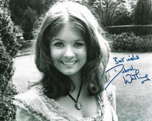 "Debbie Watling ""Victoria Waterfield"" DOCTOR WHO Genenuine Signed Autograph 10 x 8 COA  11368"
